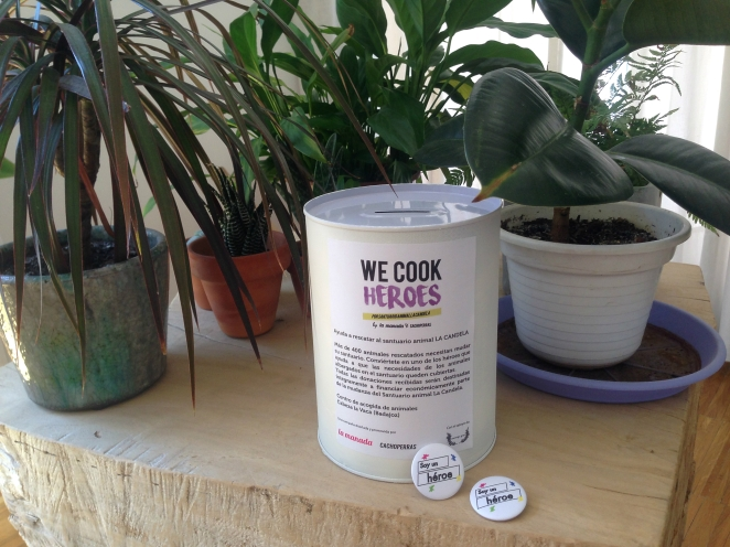 We Cook Heroes Primera campaña de la Gastronomía Vegetariana de Madrid