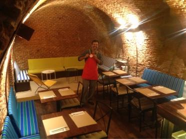 Restaurante Pizzi Dixie con We Cook Heroes